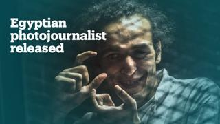 Award-winning photojournalist released from Egyptian prison