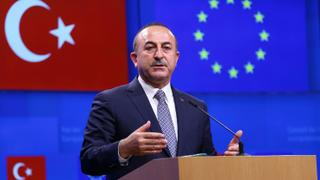 Why did the European Parliament vote to suspend Turkey's accession process?