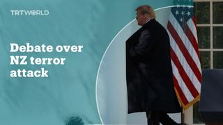 US politics divided over the New Zealand terror attacks