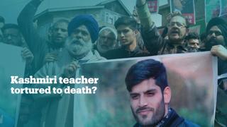 Kashmiri teacher dies in police custody