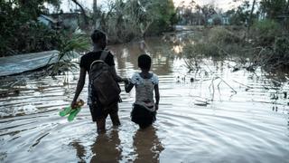 Cyclone Idai: Aid arrives in devastated Mozambican community