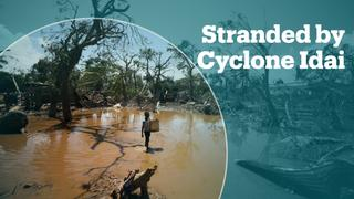 Village in Mozambique stranded after Cyclone Idai