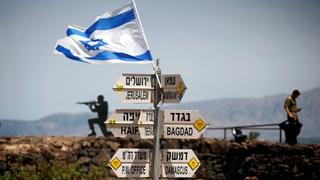 Why did Trump recognise Israel's sovereignty over the Golan Heights?