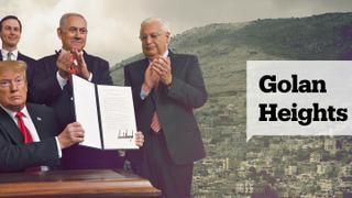 Backlash over Golan Heights | Turkey's EU bid suspended