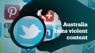 Australia's new social media law penalises violent content