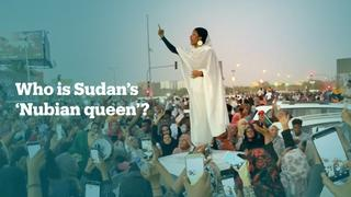 Photo of young Sudanese woman becomes symbol of protests