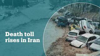Death toll rises to 76 after Iran floods
