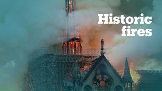 Iconic buildings that were destroyed by fire