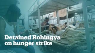 Hundreds of Rohingya refugees on hunger strike in Saudi detention
