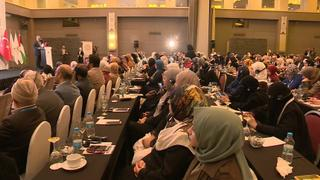 Israel-Palestine Tensions: Big support at conference for Palestinian women