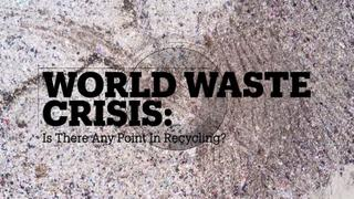 WORLD WASTE CRISIS: Is there any point in recycling?