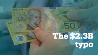 Australia printed 46 million A$50 notes with a typo