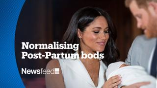 Meghan Markle shows what women look like after they give birth
