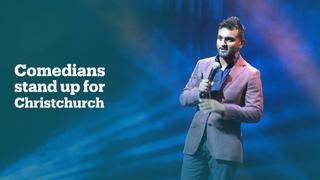Australian comedians stand up for Christchurch