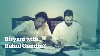 Did Pakistani PM Imran Khan 'eat biryani' with Rahul Gandhi?