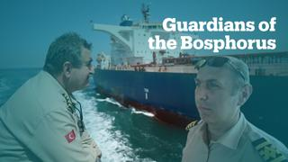 Here are the guardians of the Bosphorus