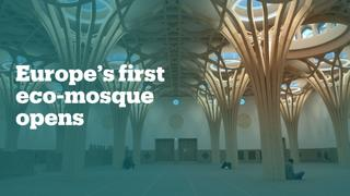 This is Europe's first 'eco-mosque'