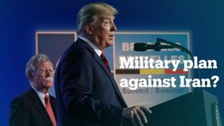 Trump denies US plan to send 120,000 troops to counter Iran threat