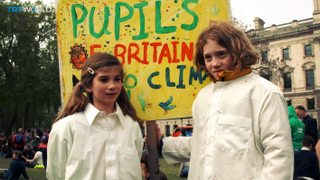 THE KIDS ARE ALRIGHT. Youngsters tell us why they're worried about climate change