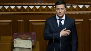Ukraine Presidency: Former comedian Volodymyr Zelenskiy sworn in