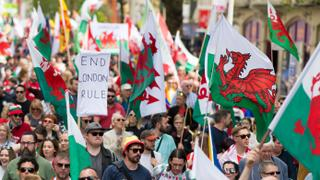Marching for Welsh Independence
