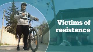 The Gazan cyclist who lost his leg