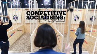 COMPETITIVE SOCIALISING: Fad or the future?