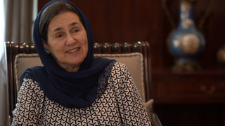 One on One: Interview with Afghan first lady Rula Ghani