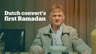 Dutch convert Pierre Weijers experiences his first Ramadan