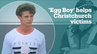'Egg Boy' donates $70,000 to Christchurch attack victims