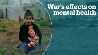 Mental illness affects one in five people living in war zones