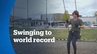 Charlie O'brien records unusual achievement