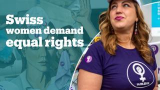 Swiss women stage mass strike demanding gender equality