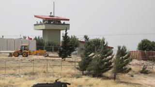 The War in Syria: Turkish observation post attacked in Syria
