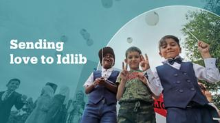 'We Are the Love' campaign highlights plight of Idlib's besieged civilians