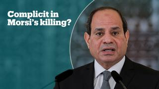 Morsi's son accuses Sisi and other officials of killing his father