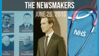 Kushner's Peace Plan   MH17 Murder Charges   Doctors With Borders