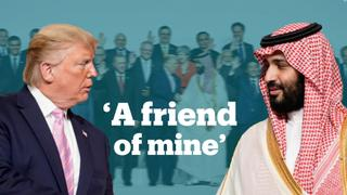 Trump praises Saudi Crown Prince Mohammed bin Salman at the G20 summit