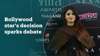 Bollywood actress Zaira Wasim's decision to quit the film industry has stirred debate in India