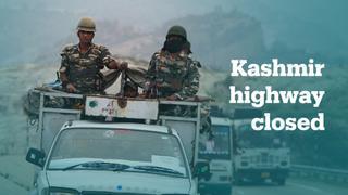 India closes highways for Hindu pilgrims in Kashmir
