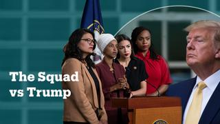 Who are the US congresswomen in 'the squad'?
