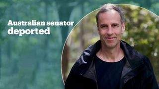 Australian senator deported from Manus Island for trying to visit asylum seekers
