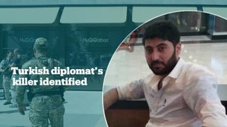 Suspect in Turkish diplomat's killing identified