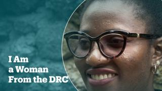 I am a woman from the DRC