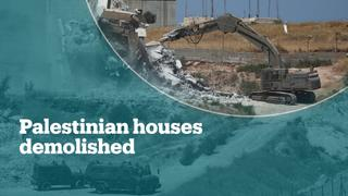 Israeli soldiers begin demolishing Palestinian homes in E Jerusalem