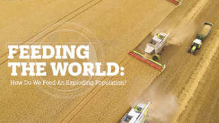 Feeding the world: How do we feed an exploding population?