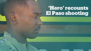 'Hero' recounts El Paso mass shooting