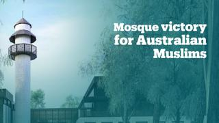 Muslims finally get a mosque in a city in Australia