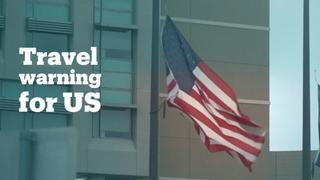 Amnesty joins several countries in issuing a travel advisory for the US