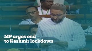 Indian MP calls for end to Kashmir lockdown